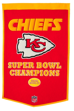 Kansas City Chiefs Banner Dynasty Banner