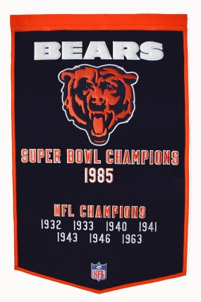 Chicago Bears Banner Dynasty Banner