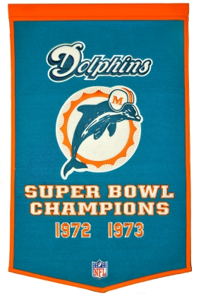 Miami Dolphins Banner Dynasty Banner