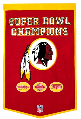 Washington Redskins Banner Dynasty Banner