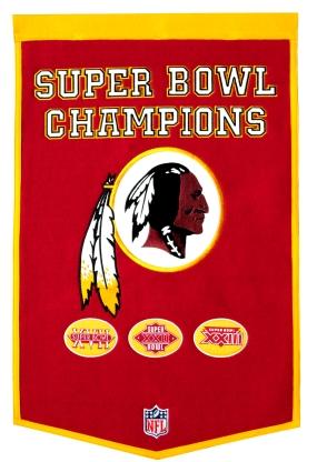 Washington Redskins Banner Dynasty Banner
