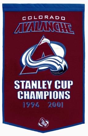 Colorado Avalanche Dynasty Banner