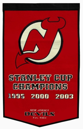 New Jersey Devils Dynasty Banner