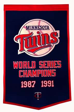 Minnesota Twins Dynasty Banner