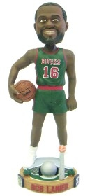 Milwaukee Bucks Bob Lanier Bobble Head