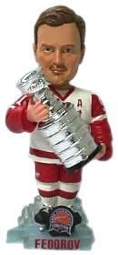 Detroit Red Wings Sergei Federov Stanley Cup Bobble Head