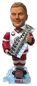 Detroit Red Wings Brett Hull Stanley Cup Bobble Head