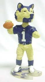 Washington Huskies Mascot Bobble Head