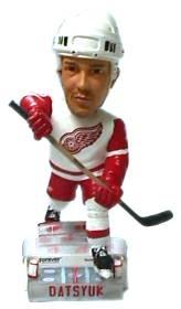Detroit Red Wings Pavel Datsyuk Action Pose Bobble Head