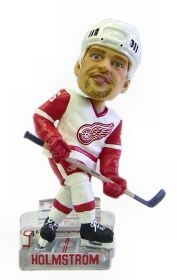 Detroit Red Wings Tomas Holmstrom Action Pose Bobble Head