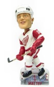 Detroit Red Wings Kirk Maltby Action Pose Bobble Head