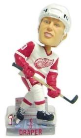 Detroit Red Wings Kris Draper Action Pose Bobble Head