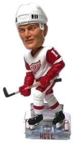 Detroit Red Wings Brett Hull Action Pose Bobble Head