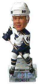 St. Louis Blues Chris Pronger Action Pose Bobble Head