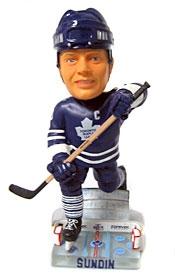 Toronto Maple Leafs Mats Sundin Action Pose Bobble Head