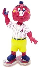 "Atlanta Braves Mascot ""Rally"" Bobble Head"