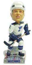 St. Louis Blues Al Macinnis Action Pose Bobble Head