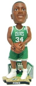 Boston Celtics Paul Pierce Road Jersey Bobble Head