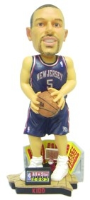 New Jersey Nets Jason Kidd 2003 All-Star Logo Bobble Head