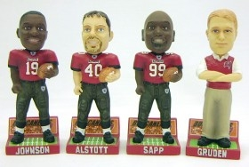 Tampa Bay Buccaneers 2003 Mini Bobble Head Set