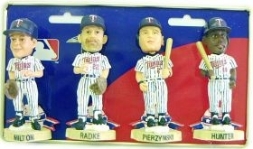 Minnesota Twins Mini Bobble Head Set