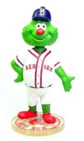 """Boston Red Sox Mascot """"Wally"""" Bobble Head"""