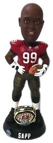 Tampa Bay Buccaneers Warren Sapp Super Bowl 37 Ring Bobble Head