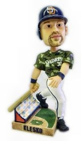San Diego Padres Ryan Klesko 3rd Action Pose Bobble Head