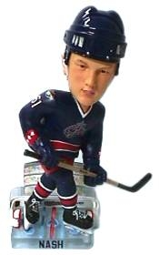 Columbus Blue Jackets Rick Nash Action Pose Bobble Head