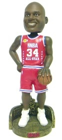 Los Angeles Lakers Shaquille O'Neal 2003 All-Star Uniform Bobble Head
