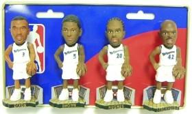 Washington Wizards Mini Bobble Head Set