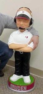 "Tampa Bay Buccaneers Coach Jon Gruden 36"" Bobble Head"