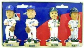 Japan MLB Mini Bobble Head Set