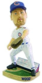 Chicago Cubs Kerry Wood Action Pose Bobble Head