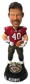 Tampa Bay Buccaneers Mike Alstott Super Bowl 37 Ring Bobble Head