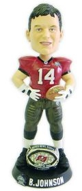 Tampa Bay Buccaneers Brad Johnson Super Bowl 37 Ring Bobble Head