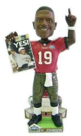 Tampa Bay Buccaneers Keyshawn Johnson Super Bowl 37 Champ Bobble Head