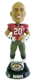 Tampa Bay Buccaneers Ronde Barber Super Bowl 37 Ring Bobble Head