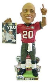 Tampa Bay Buccaneers Ronde Barber Super Bowl 37 Champ Bobble Head