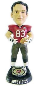 Tampa Bay Buccaneers Joe Jurevicius Super Bowl 37 Ring Bobble Head