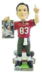 Tampa Bay Buccaneers Joe Jurevicius Super Bowl 37 Champ Bobble Head