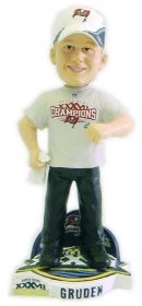 Tampa Bay Buccaneers Coach Jon Gruden Super Bowl Champ Cap Bobble Head