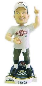 Tampa Bay Buccaneers John Lynch Super Bowl Champ Cap Bobble Head