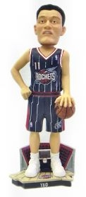 Houston Rockets Yao Ming Road Jersey Bobble Head