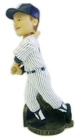 New York Yankees Lou Gehrig Stat Bobble Head