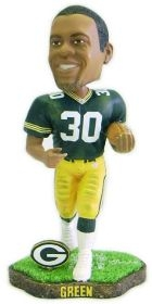Green Bay Packers Ahman Green Game Worn Bobble Head