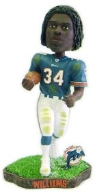 Miami Dolphins Ricky Williams Game Worn Bobble Head