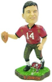 Tampa Bay Buccaneers Brad Johnson Game Worn Bobble Head