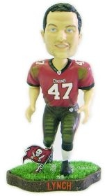 Tampa Bay Buccaneers John Lynch Game Worn Bobble Head