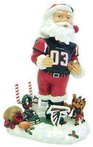 Atlanta Falcons Santa Claus Bobble Head